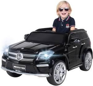 Kinder Elektro Auto Mercedes GL63 Lizenziert SUV Kinderauto Elektrofahrzeug (Schwarz/Lackiert)