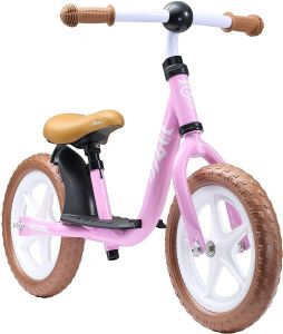Bikestar Löwenrad Kinderlaufrad 12 Zoll Rosa