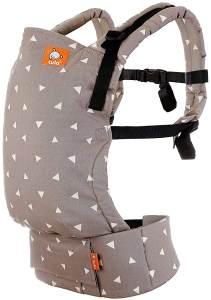 Tula Free-To-Grow Babytrage für Neugeborene ab Geburt, Ergonomisch Baby-Tragetasche Bauchtrage Rückentrage (Sleepy Dust)