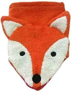 Furnis 12x 15cm Fox Mund Waschlappen (klein, Mehrfarbig)