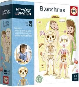 Lernspiel Aprender es Divertido El Cuerpo Humano Educa (ES)