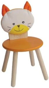 Bartl 'Katze' Kinderstuhl, orange