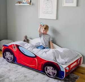 Kids Collective 'Spider' Autobett 80x160 mit Lattenrost