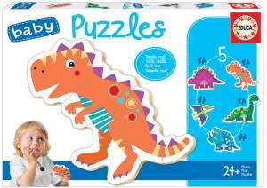 Educa - Dinosaurier Baby Puzzle
