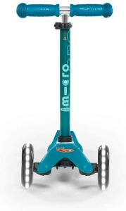 Micro Mobility MMD076 Mini Micro Deluxe Kinderroller, Aqua