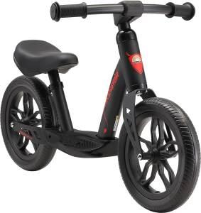 Bikestar Kinderlaufrad 10 Zoll Eco Classic Schwarz