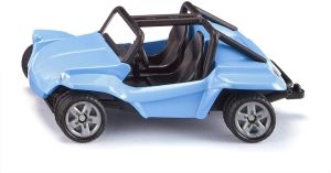 siku 1057, Buggy, Metall/Kunststoff, Blau, Bereifung aus Gummi, Spielzeugfahrzeug für Kinder