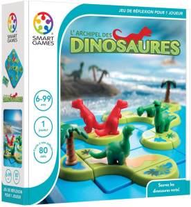 Smartgames–SG 282fr–Archipel der Dinosaurier–Spiel der Reflexion für Kinder