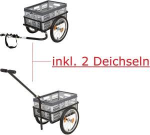 """POINT® 16"""" CARGO - Fahrradanhänger - schwarz"""