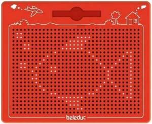 Beleduc 21042 - Das magische Magnetspiel,Rot,280 x 255 x 12 mm