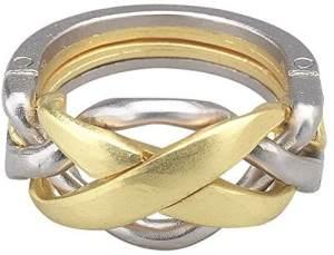 Bartl Huzzle Cast Ring - Hochwertiges Metall-Puzzle