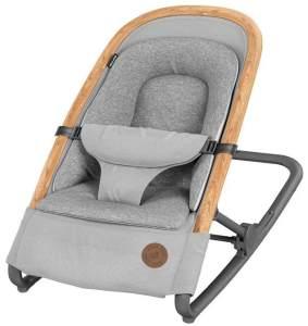 Maxi-Cosi Kori 2-in-1 Babywippe, hochwertige Babyschaukel nutzbar ab der Geburt bis max. 9 kg, natürliches, ergonomisches Schaukeln ohne Elektronik, einfach zusammenklappbar, Essential grey (grau)