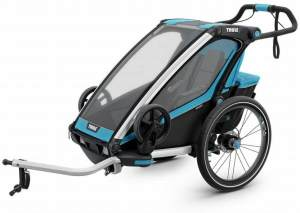 Thule Chariot Sport 1 mit StVZO-Beleuchtung thule Blue/Black