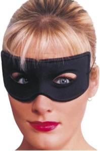 Smiffys Unisex Räuber Augenmaske, One Size, Schwarz, 94118