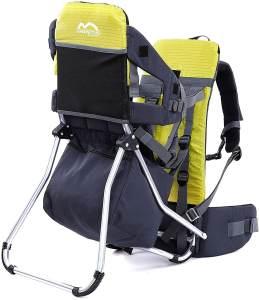 MONTIS RUNNER ONE, Rückentrage, Kindertrage, bis 25kg, Gelb