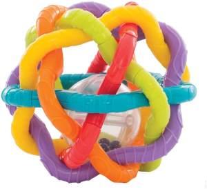 Playgro Rassel- und Greifball, Ab 6 Monaten, Bendy Ball, Bunt, 40133