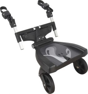 Fillikid 'Exclusiv' Buggyboard 180°, Schwarz, universell einsetzbar