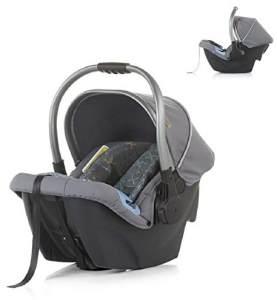 Chipolino Kindersitz Up&Down Gruppe 0+(0-13 kg) verstellbarer Griff Sonnendach, Farbe:dunkelgrau