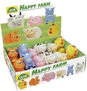 Lena Spritztiere Happy Farm - 1 Stück, zufällige Auswahl, keine Vorauswahl möglich