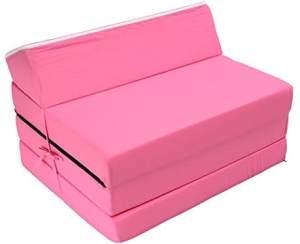 Best For Kids Kindersessel/Reisebettmatratze 3-in-1, pink