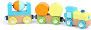 Small Foot Spielzeugeisenbahn Junior Holz 21 cm 5-teilig