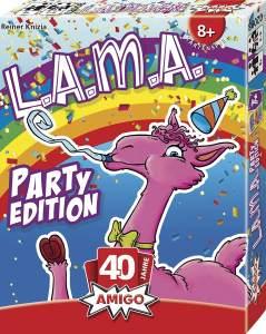 Amigo - LAMA Party Edition - Kartenspiel