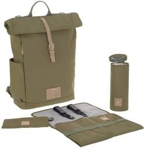 Lässig Green Label Rolltop Backpack (5 Farben) Olive