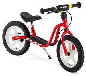 PUKY 4046 'LR 1L BR' Laufrad, für Kinder ab 90 cm Körpergröße, bis 25 kg belastbar, höhenverstellbar, inkl. Bremse, rot