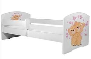 Angelbeds 'Luk2 Luk' Kinderbett 80 x 160 cm, Motiv 10, mit Lattenrost und Matratze