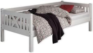Bega 'Trevi' Kinderbett 90x200 cm, weiß, Kiefer massiv