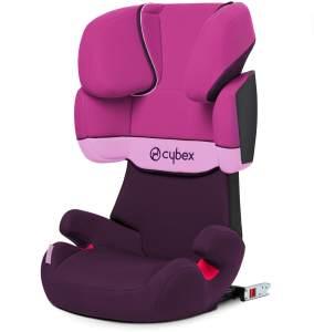 Cybex Silver Solution X-fix, Autositz Gruppe 2/3 (15-36 kg), Mit Isofix, Purple Rain
