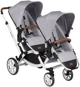 ABC Design 'Zoom' Geschwister- und Zwillingswagen 2020 Graphite Grey