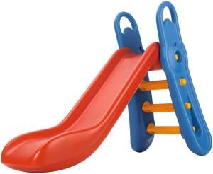 Big 'Fun-Slide' Rutsche, rot/blau, 164 x 73 x 116 cm, ab 3 Jahren, höhenverstellbar, zusammenklappbar
