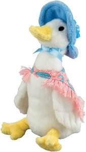 Enesco A26428 - Beatrix Potter Plüsh, Jemima Puddle Duck, klein