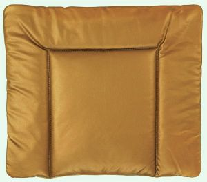 Ideenreich 2458 Wickelauflage Lederoptik (Metallic) Abwaschbar 75cm x 85cm, Bronze