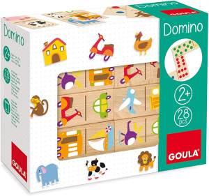 Jumbo Spiele D50264 Domino Fahrzeug