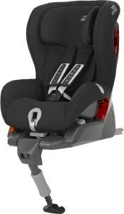 Britax Römer Kindersitz 9 Monate - 4 Jahre I 9 - 18 kg I SAFEFIX PLUS Autositz Gruppe 1 I Cosmos Black