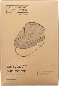 Mountain Buggy - Carrycot plus sun cover für duet