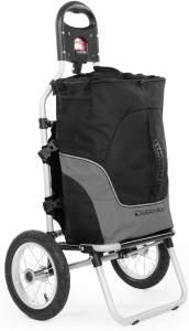 Duramaxx Carry Grey Fahrradanhänger max. Traglast 20kg schwarz/grau