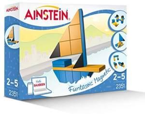 AINSTEIN 2351 - Faszinierende Hafenwelt, das Kreativspielzeug für Vorschulkinder, einzigartige Magnetbausteine