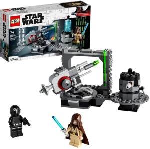 LEGO 75246 Star Wars Todesstern Kanone, Eine neue Hoffnung mit Obi Wan-Kenobi und Death Star Gunner Minifiguren