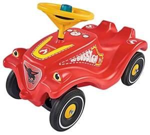 BIG 800056128 'Bobby-Car-Classic Feuerwehr' ab 12 Monaten, bis 50 kg belastbar, rot