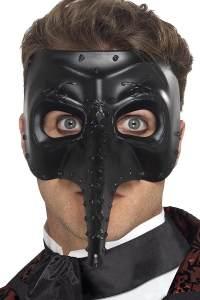 Smiffys 27656 - Venetian Gothic Capitano Maske