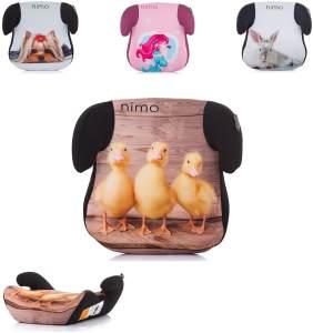 Chipolino Kindersitz Nimo Gruppe 2/3 (15 - 36 kg), Bezug abnehmbar und waschbar braun