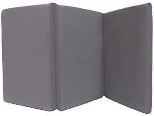 Kadolis Faltbare Reisematratze für Babys 60x120 cm Grau