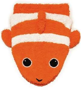 Fürnis 596.0 Waschlappen Clownfisch BIO, orange