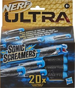 Hasbro F1048EU4 Nerf Ultra Sonic Screamers 20er Dart Pack