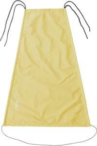 Playshoes Baby Sonnensegel für den Kinderwagen, gelb, 75 x 55 cm
