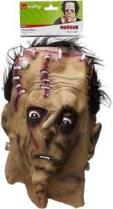 Halloween! Smiffys Maske Monster, Über Kopf, Latex
