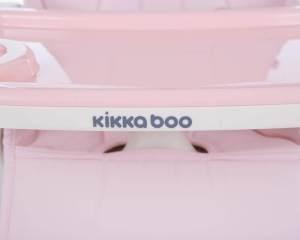 Kikkaboo Hochstuhl Creamy 2in1, Tablet abnehmbar, Höhe verstellbar, 3-Punkt-Gurt rosa